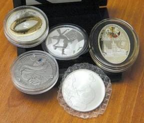 Серебряные монеты - продать или купить изделия: цены и ассортимент