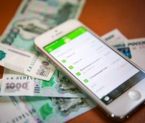 Оплата Мобильного банка посредством телефона