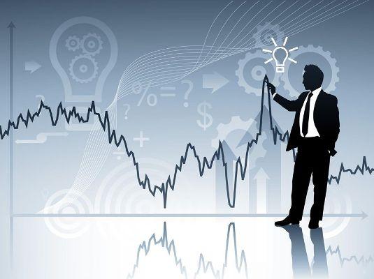 следить за курсом акций на биржах