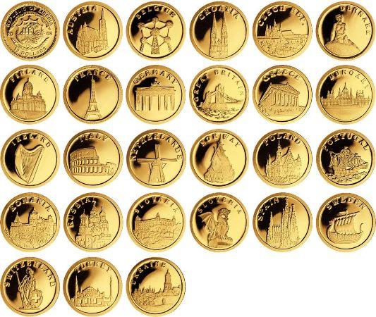инвестиционные монеты страны мира