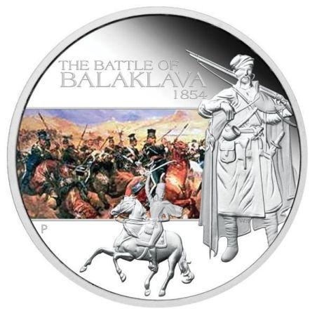 монета битва балаклава