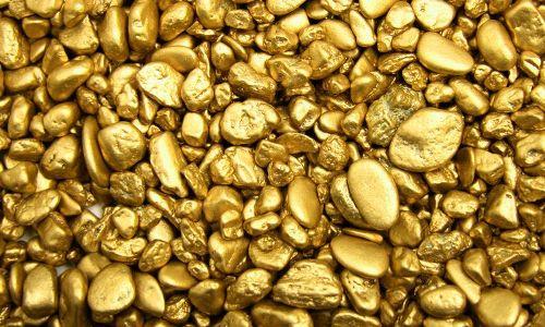 золото в естественном виде