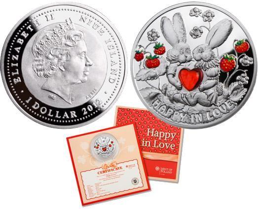 серебряная монета доллар