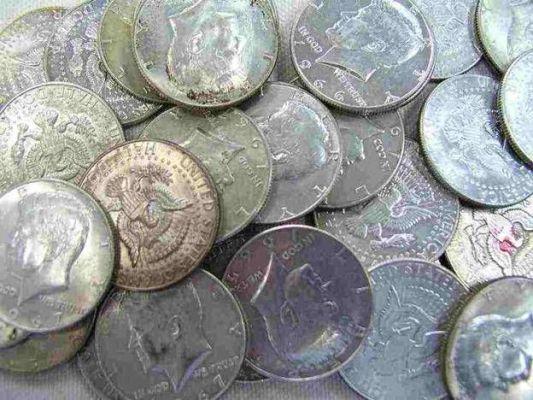 чеканка серебряных монет