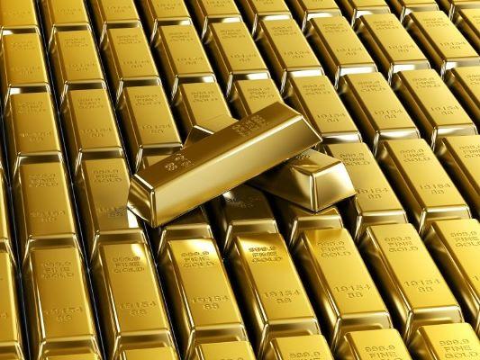 золотые слитки имеют сертификат качества