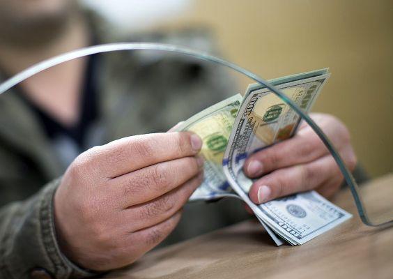 подсчет долларов сша