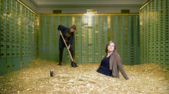 золотой запас банковских ячеек