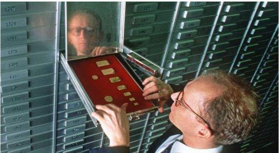 хранение золотых монет в ячейке сбербанка