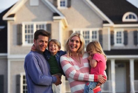 молодая семья купила загородную недвижимость
