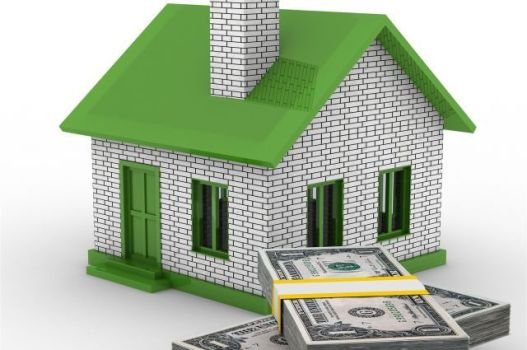 дом с долларами