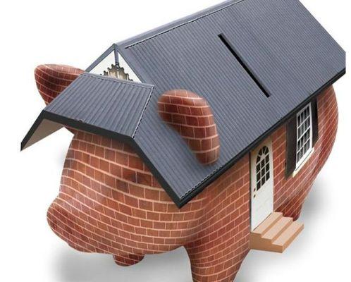 копилка дом свинья