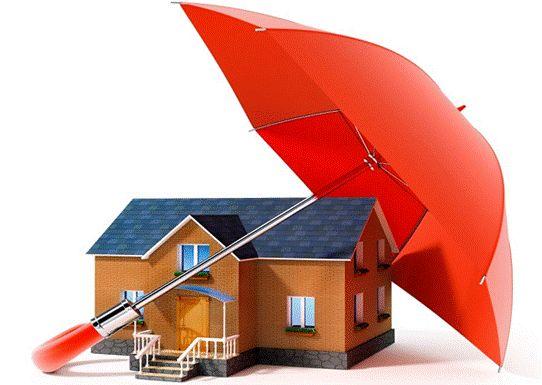 защита дома под зонтом