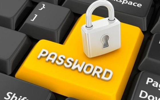 пароль под замком