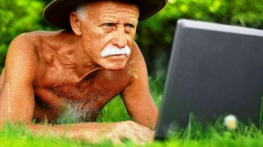 дедушка пенсионер