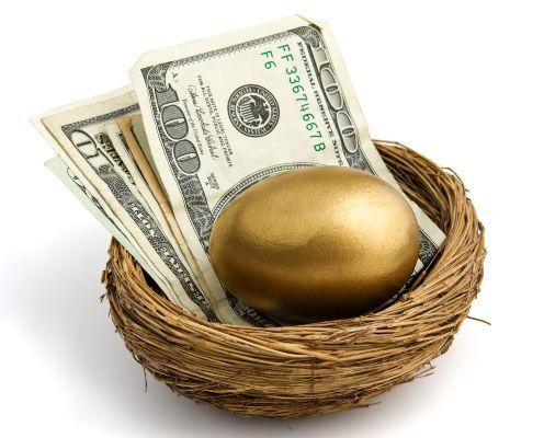 доллары с золотым яйцом