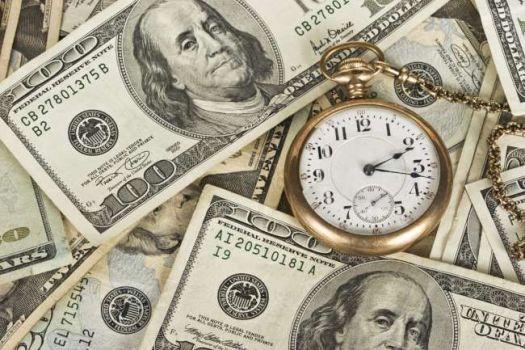 время долларов